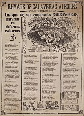 Newspaper Day of the Dead
