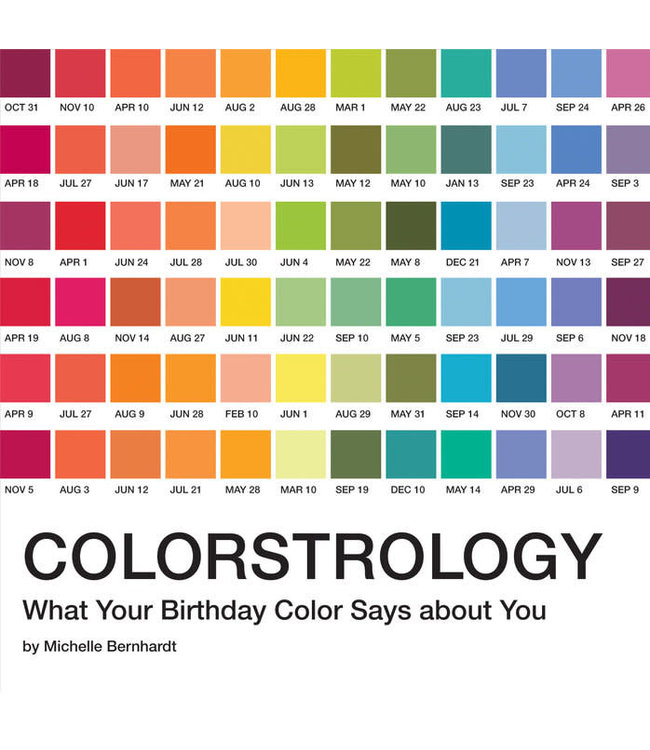 Book, Colorstrology