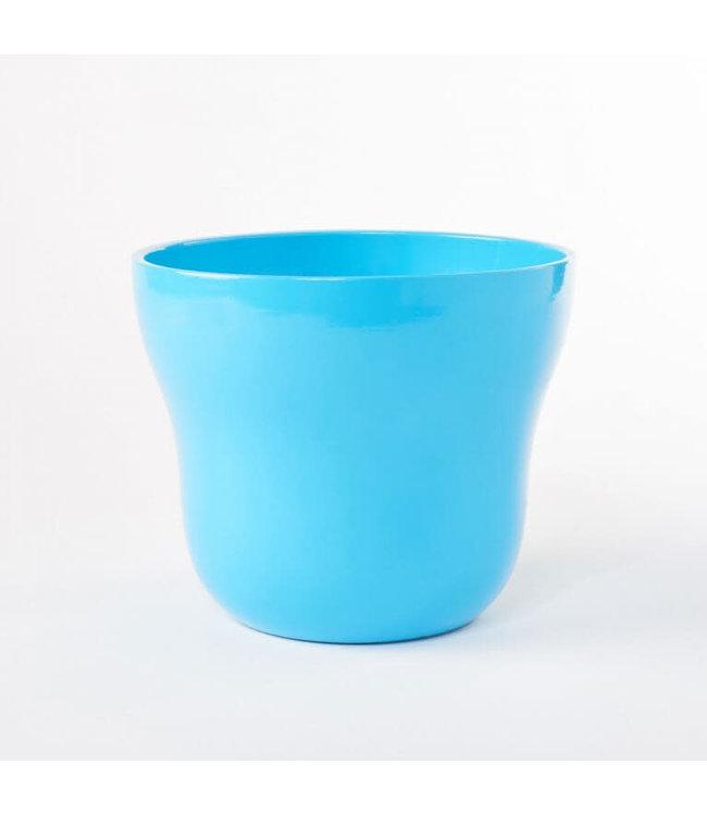 Potcover, Blue Taper 5 in