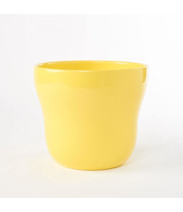 "Potcover, Yellow Taper 5"""