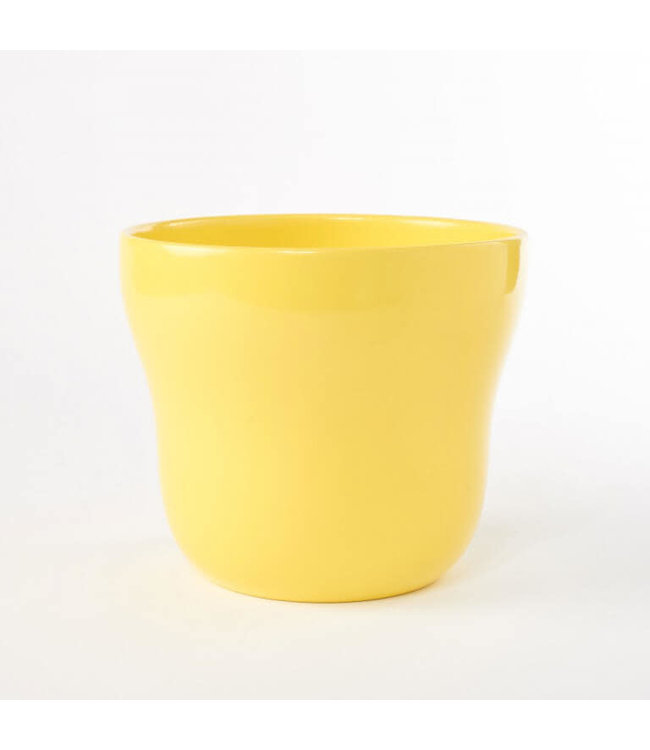 Potcover, Yellow Taper 5in