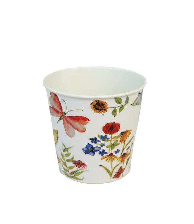Potcover, Flower Asst