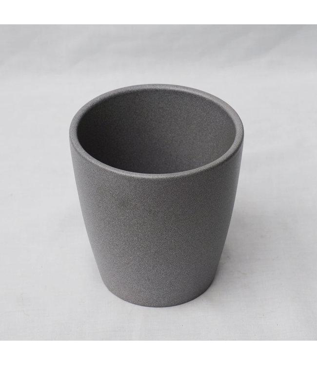 """Planter, Grey Thalia 5.5"""""""