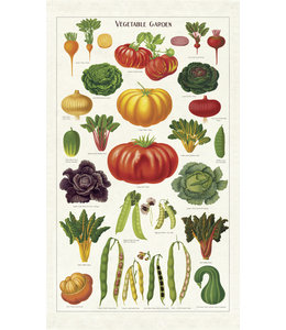 Tea Towel, Veg Garden