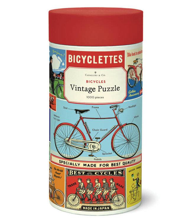 Puzzle, Vintage Bicycles