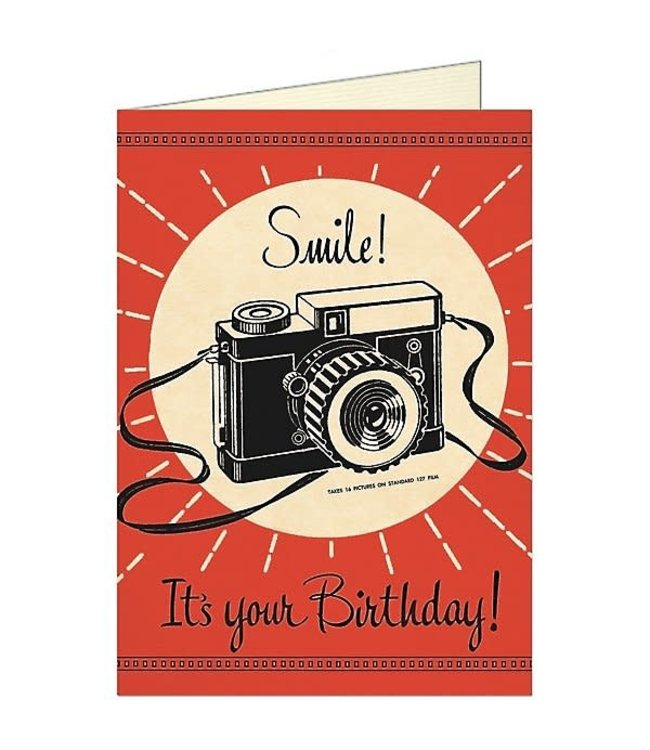 Card & Env, Camera Birthday