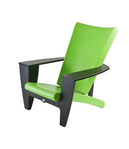 Twist Chair, Cozi Black Frame w/Green