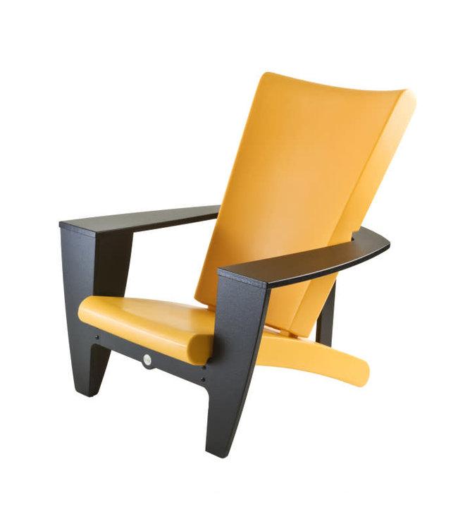 Twist Chair, Cozi Black Frame w/Yellow