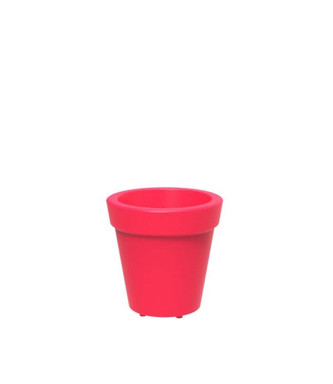 """Twist Pot Tera  14"""" Red"""