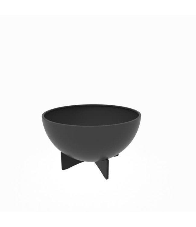 "Twist Pot, Vask Black 36"" TW"