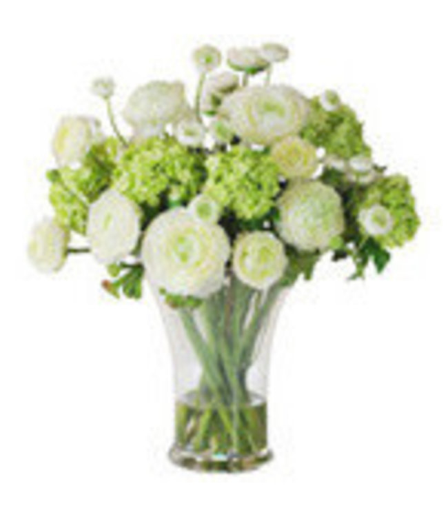 Spring Whites and Greens, Arrangement