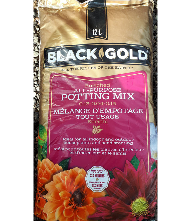 Potting Mix, Black Gold 12L
