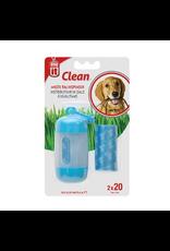 DOG IT Dogit Bag Dispenser - 2 Rolls/20 Bags - 29.5 x 23 cm (11.6 x 9 in) - Blue