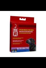 "DOG IT Dogit Nylon Dog Muzzle, Black, XL/XXL, 24 cm/9.4"""