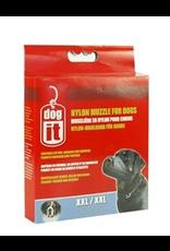 """DOG IT Dogit Nylon Dog Muzzle, Black,XXLarge, 30 cm/11.8"""""""