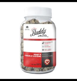 BUDDY JACK'S Buddy Jack's Functional Dog Treats - Heart and Immunity - 12 oz