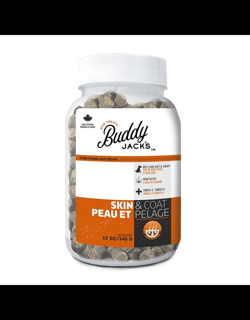 BUDDY JACK'S Buddy Jack's Functional Dog Treats - Skin and Coat - 12 oz
