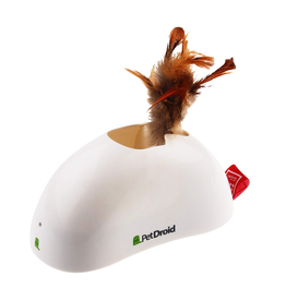(W) Pet Droid - Feather Hider with Motion Sensor and Sound Module