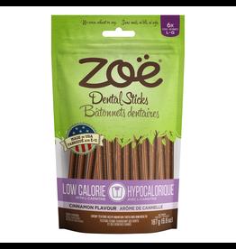 ZOE Zoë Large Dental Sticks for Dogs – Low Calorie - Cinnamon Flavour - 187 g (6.6 oz)