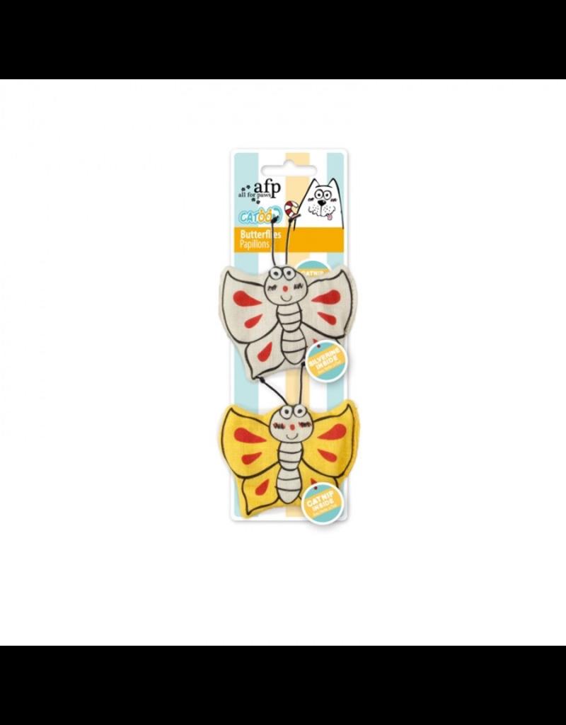 AFP (W) AFP Catoon Butterflies 2pk
