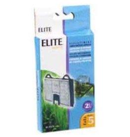 ELITE (D) Elite Hush 5 Carbon Cartridge, 2Pk-V