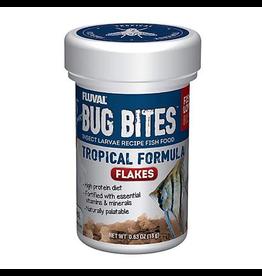 FLUVAL Fluval Bug Bites Tropical Flakes, 18 g