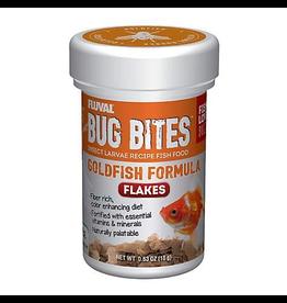 FLUVAL Fluval Bug Bites Goldfish Flakes, 18 g