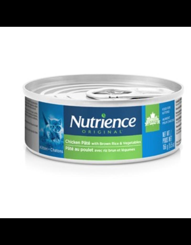 NUTRIENCE Nutrience Original Kitten - Chicken Pâté with Brown Rice & Vegetables - 156 g (5.5 oz)