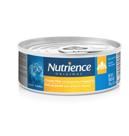 NUTRIENCE Nutrience Original Healthy Adult - Chicken Pâté with Brown Rice & Vegetables - 156 g (5.5 oz)