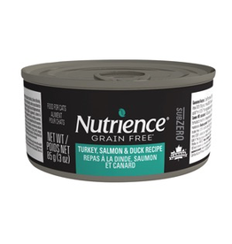 NUTRIENCE Nutrience Subzero Wet Food for Cats - Turkey, Salmon & Duck Recipe