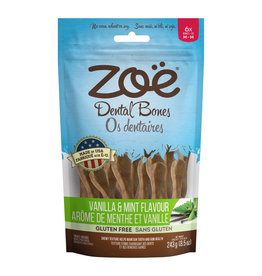 ZOE Zoë Dental Bones - Vanilla and Mint Flavour - Medium - 243 g (8.5 oz)
