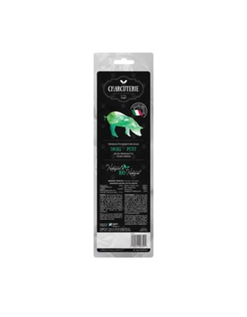 Charcuterie by Dogit Prosciutto Bone for Dogs - Small (Fibula) - Min Wt 40 g (1.4 oz)