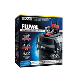 FLUVAL (W) Fluval 107 Performance Canister Filter, up to 130 L (30 US gal)