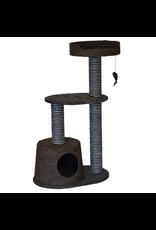 "ANIMAL TREASURES Cat Tree Scratcher - Bi-Level - 37.75"""