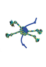 (W) K9 Fitness by Zeus Rope and TPR Spider Ball - 30.48 cm dia. (12 in dia.)
