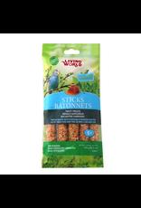 LIVING WORLD LW Parakeet Honey Stick, 5-pack 150gr