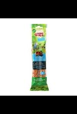 LIVING WORLD LW Parakeet Fruit Stick, 2-pack 60gr