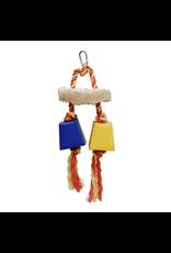 LIVING WORLD (D) Living World Festive Favors, Rope - Wood & Paper Box Toy - 23 cm