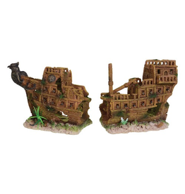 UNDERWATER TREASURES UT MEDIEVAL BATTLESHIP MD(2PC)