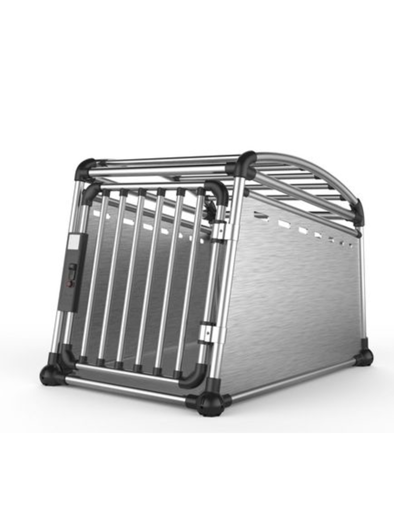 AFP (D) AFP – Travel Dog - Aluminium Travel Crate – Large - 25 x 27 x 35 in