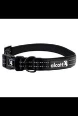 ALCOTT Essentials Adventure Collar - Black - Large
