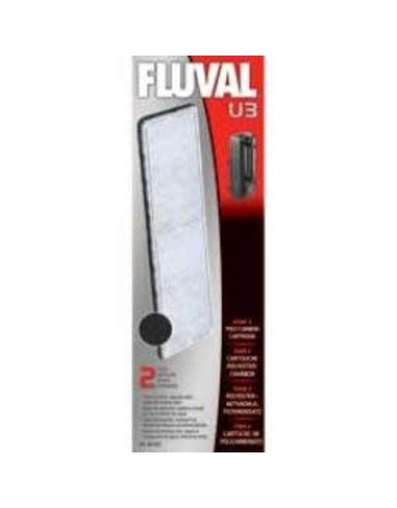 FLUVAL Fluval U3 Poly/Carbon Cartridge,2pcs-V