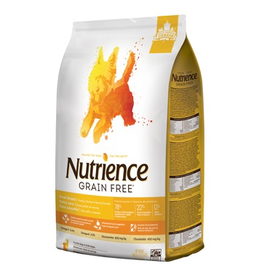 NUTRIENCE Nutrience Grain Free for Small Breed Turkey, Chicken & Herring - 5 kg (11 lbs)