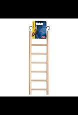 "LIVING WORLD Living World Wooden Bird Ladder - 7 Steps - 30 cm (12"") Long"