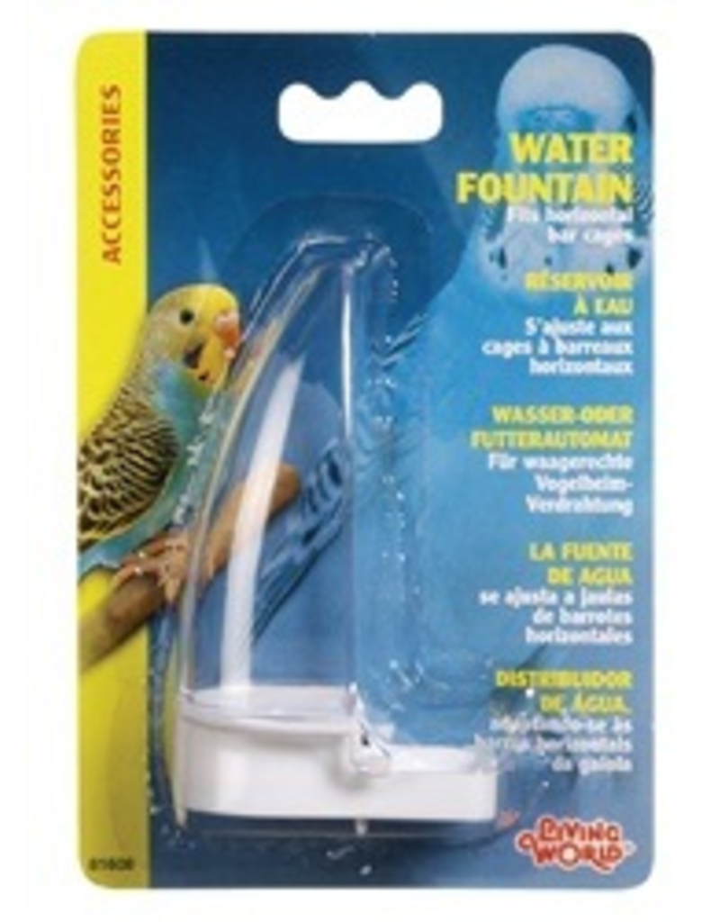 LIVING WORLD LW Water Fountain f/all Hori.Wire Cage-V