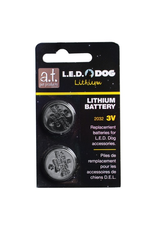 A.T. PET PRODUCTS (D) AT LED DOG - BATTERY