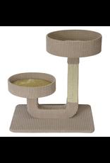 """ANIMAL TREASURES Cat Tree Scratcher - Double Pedestal - 24"""""""