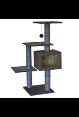 "ANIMAL TREASURES Cat Tree Scratcher - Tri-Level - 43.5"""