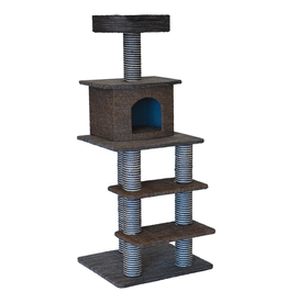 ANIMAL TREASURES (W) Cat Tree Scratcher - Multi Level - 51""