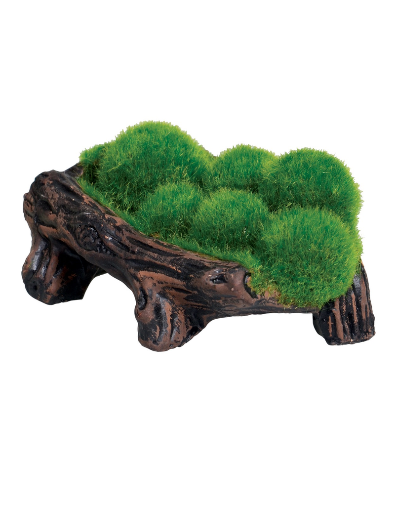 UNDERWATER TREASURES UT Mossy Log Cave with Airstone